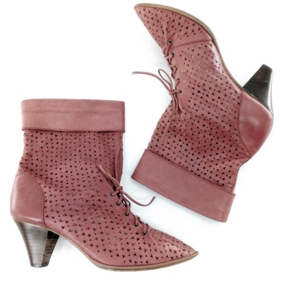 Latigo Rose Lasercut Ankle Boots | Poshmark